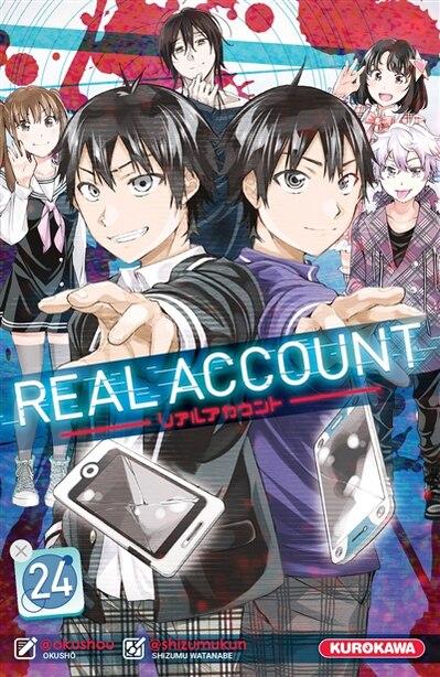 Real account Tome 24 by Shizumu Watanabe