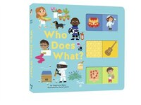 Who Does What?: A Slide-and-learn Book
