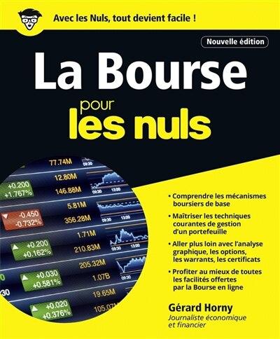 La bourse pour les nuls 4e ed. de Gérard Horny