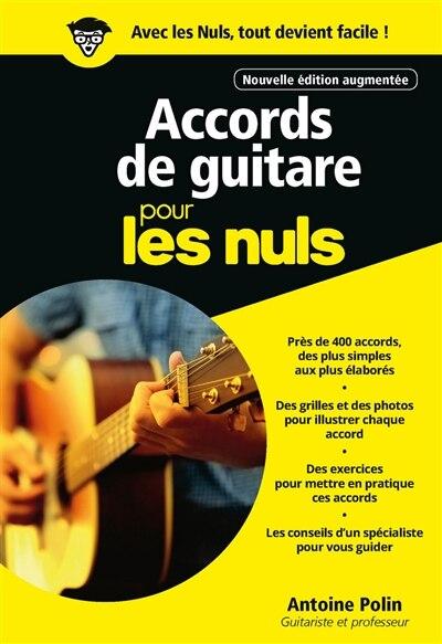 Accords De Guitare Pour Les Nuls de Antoine Polin