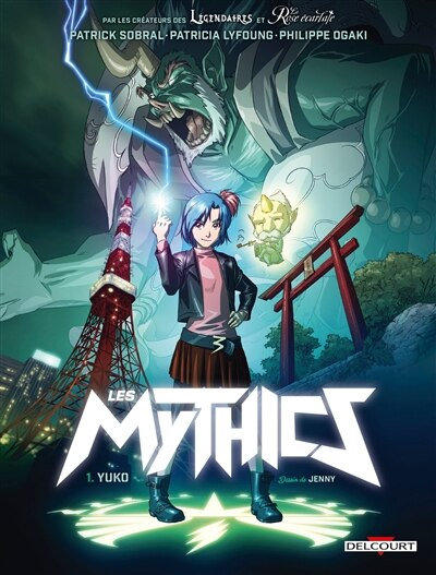 MYTHICS 01 YUKO by Patrick Sobral