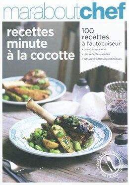Book Recettes minute à la cocotte by Marabout