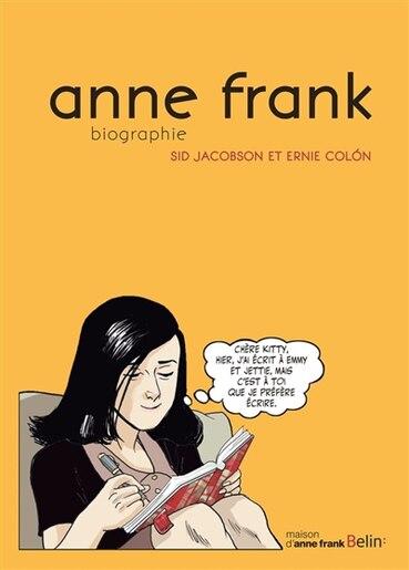 anne frank biographie en bande dessine by sid jacobson - Anne Frank Lebenslauf