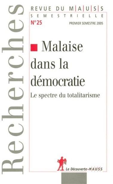 MALAISE DANS LA DEMOCRATIE by COLLECTIF