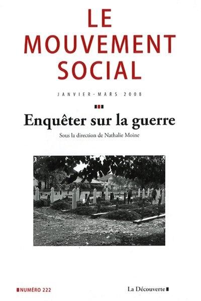 ENQUETER SUR LA GUERRE #222 by COLLECTIF