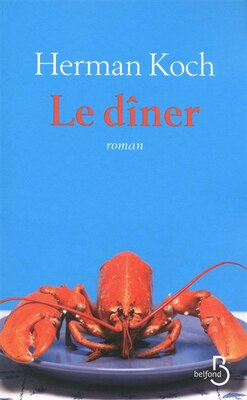 Book DINER -LE by Herman Koch