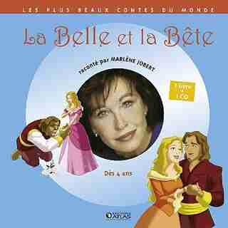 Belle et Bête Livre Cd by Marlene Jobert