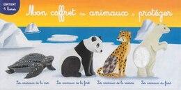 Book Mon coffret des animaux à protéger by Christophe Boncens