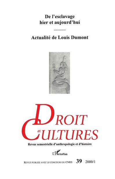DROIT ET CULTURES N° 39 by Collectif