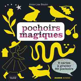 Pochoirs magiques by Anne-Lise Boutin