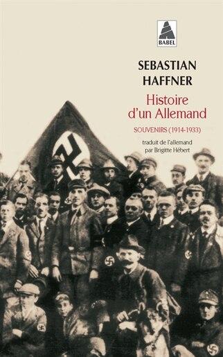 Hist Dun Allemand by Sebastian Haffner