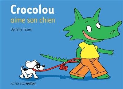 Crocolou aime son chien by Ophélie Texier