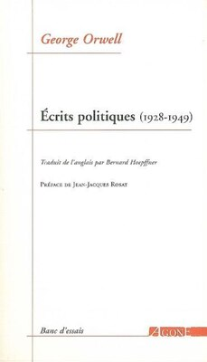 Book Ecrits politiques, 1928-1949 by George Orwell