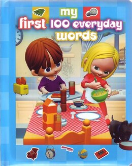 Book MY 1ST 100 EVERYDAY WORDS by Piccolia