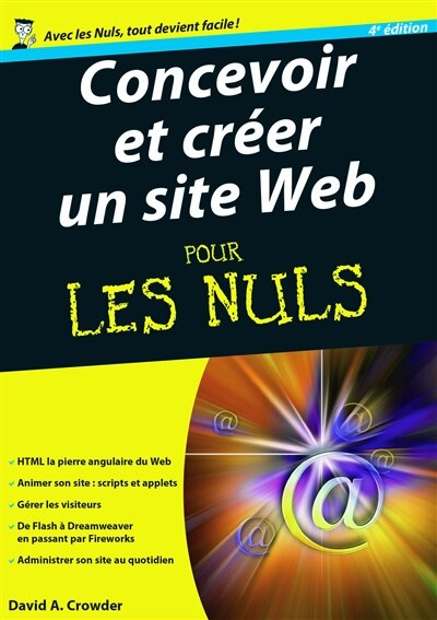 CONCEVOIR & CREER SITE WEB...NULS-4E ED de David Crowder