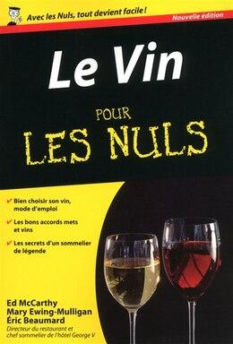 Book VIN POUR LES NULS POCHE -LE -2E ED. by Eric Beaumard