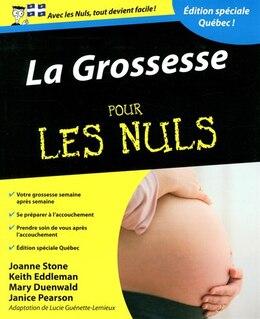 Book La grossesse pour les nuls ed Québec by Joane Stone