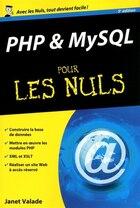 PHP ET MYSQL POUR LES NULS PO. 5E ED.