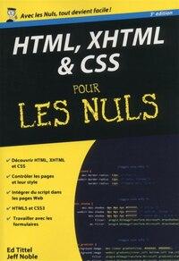HTML XHTML &CSS pour les nuls poche 3e ed.