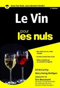 Le vin pour les nuls poche 3e ed