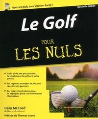 Le golf pour les nuls 2e ed.