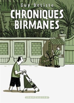Book Chroniques Birmanes by Guy Delisle