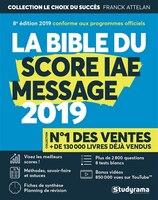 Bible du score IAE message 2019 8e édition