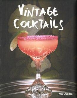 Book Vintage cocktails by BRIAN VAN FLANDERN