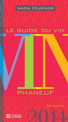 Book Guide du vin 2014 by Nadia Fournier