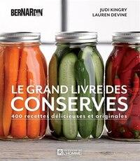 Le grand livre des conserves Bernardin
