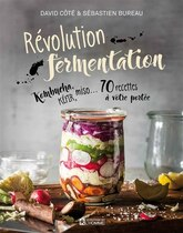 Book Révolution fermentation by David Côté