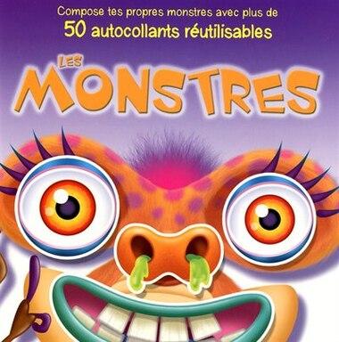 MONSTRES -LES -50 AUTOC.REUTILISABLES by CLAUDINE AZOULAY