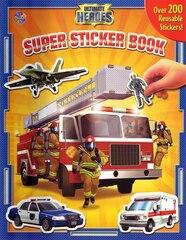 Super Sticker Book - Ultimate Heroes