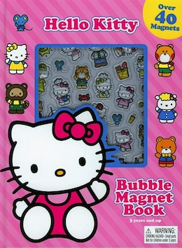Book Bubble Magnets Hello Kitty by Phidal