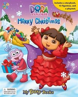 Book BUSY BOOKS DORA THE EXPLORERMERRY CHRI by Na