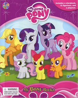 Book MY BUSY BOOKS: MY LITTLE PONY by Publishing Phidal