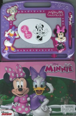 Book LEARNING SERIES: DISNEY MINNIE by Publishing Phidal