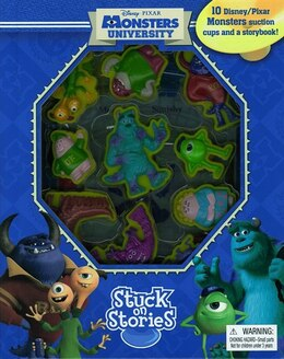 Book STUCK ON STORIES MONSTERS UNIVERSITY by Phidal