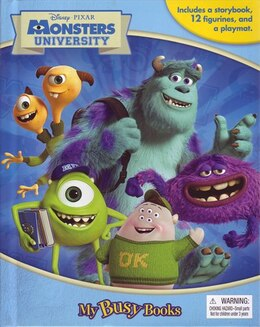Book MY BUSY BOOKS: MONSTERS UNIVERSITY by Publishing Phidal