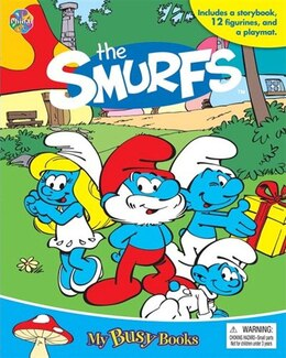 Book MY BUSY BOOKS: SMURFS by Publishing Phidal