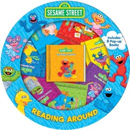 Book READING AROUND SESAME STREET by Street Sesame