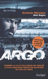 Book Argo by Antonio Mendez