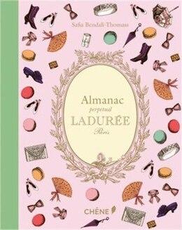 Book Almanac Perpetual Laduree by Zahia Hafs