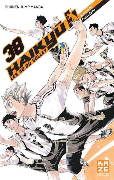 Haikyu !! -les as du volley t38 by Haruichi Furudate