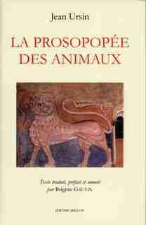 Prosopopée des animaux (La) by Jean Ursin