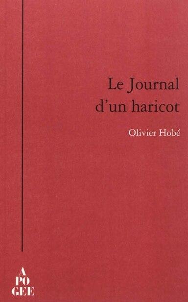Journal d'un haricot (Le) by Olivier Hobé