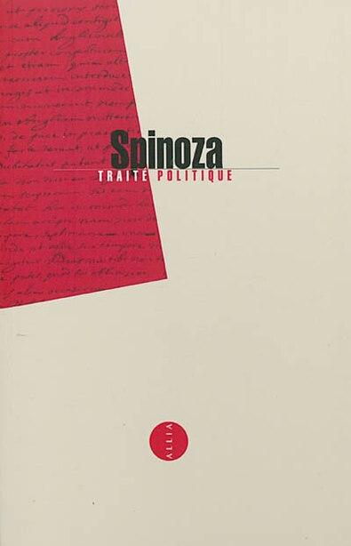 Traité politique by Baruch Spinoza