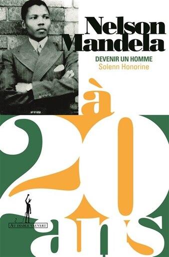 Nelson Mandela à 20 ans by Solenn Honorine