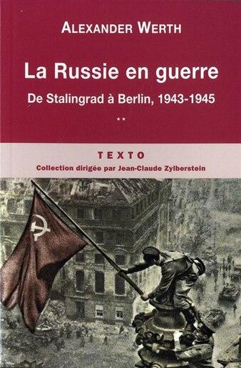 Russie en guerre (La), t. 02 by Alexander Werth