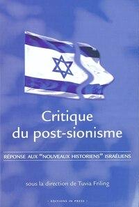 Critique du post-sionisme